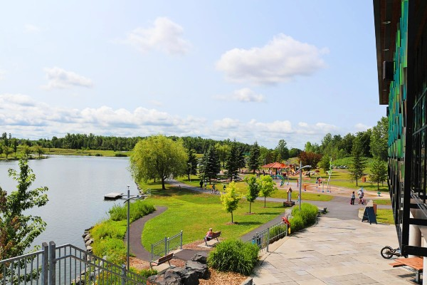 parc de la cité, saint-hubert